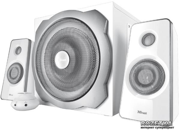 Акустическая система Trust Tytan 2.1 Subwoofer Speaker Set White (TR18789) - изображение 1