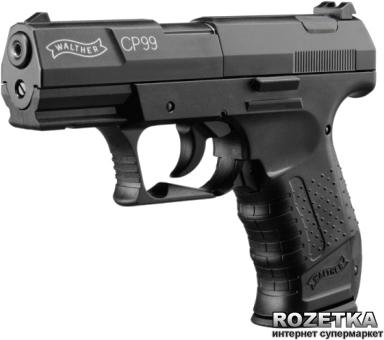 Пневматичний пістолет Umarex Walther Mod.CP99 (412.00.00) Black - зображення 1