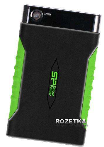 Жорсткий диск Silicon Power Armor A15 1TB SP010TBPHDA15S3K 2.5 USB 3.0 External Black - зображення 1