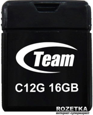 Team C12G 16Gb Black (TC12G16GB01) - зображення 1
