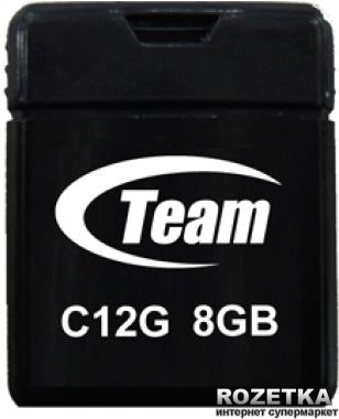 Team C12G 8Gb Black (TC12G8GB01) - зображення 1