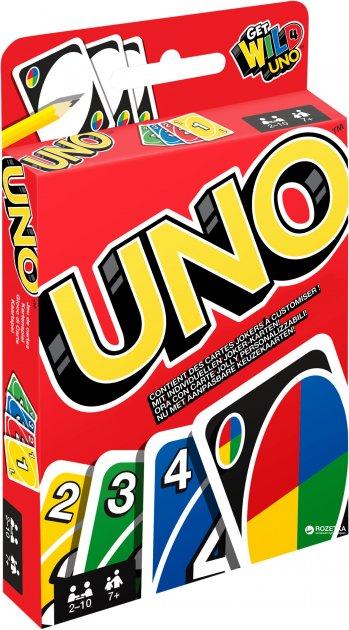 Настільна гра Uno Mattel (W2085) - зображення 1