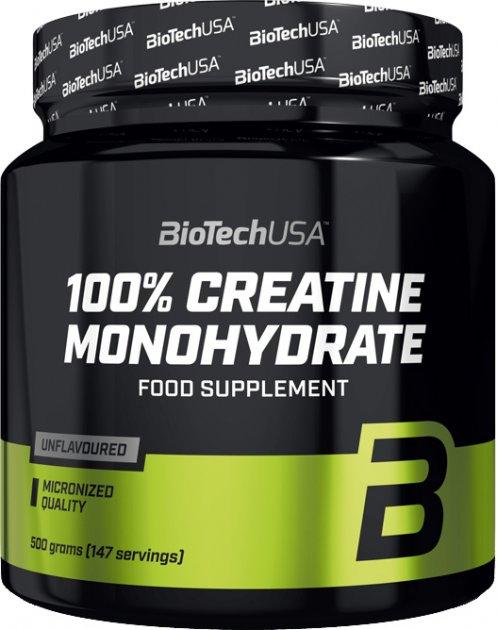 Креатин Biotech 100% Creatine Monohydrate 500 г (5999076227419)
