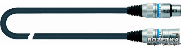 Мікрофонний кабель Quik Lok CM180-4.5BK 4.5 м (208497) - зображення 1