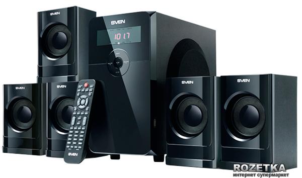 Акустическая система Sven HT-200 Black - изображение 1