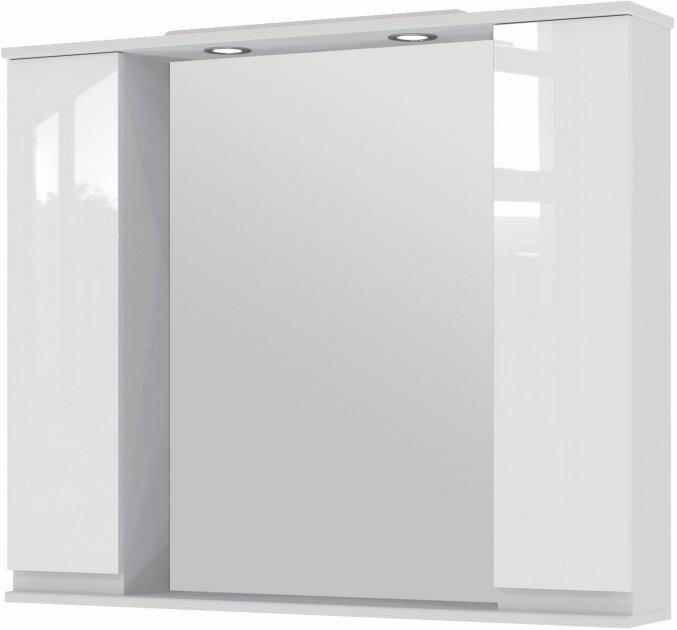 Зеркало Juventa MONIKA МШНЗ3-100 белое - изображение 1