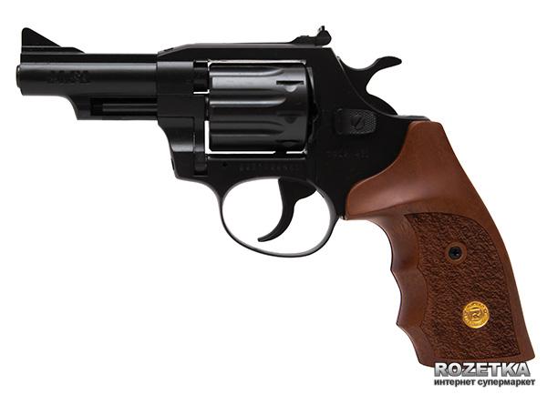 """Револьвер Alfa мод 431 3"""" (вороненный, дерево) 144942/2 (14310056) - зображення 1"""