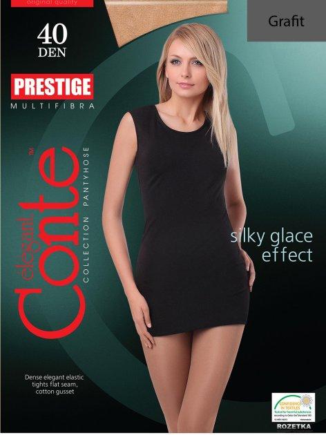 Колготки Conte Prestige 40 Den 6 р Grafit -4811473009157 - изображение 1