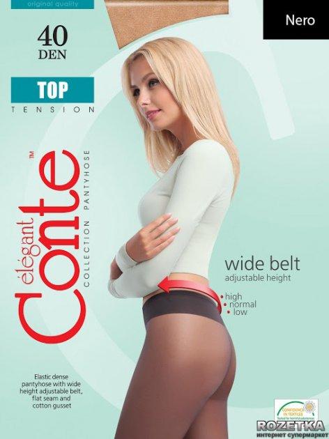 Колготки Conte Top 40 Den 4 р Nero -4810226011461 - изображение 1
