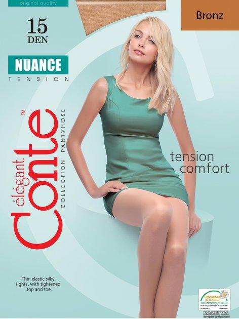 Колготки Conte Nuance 15 Den 5 р Bronz -4810226002872 - изображение 1