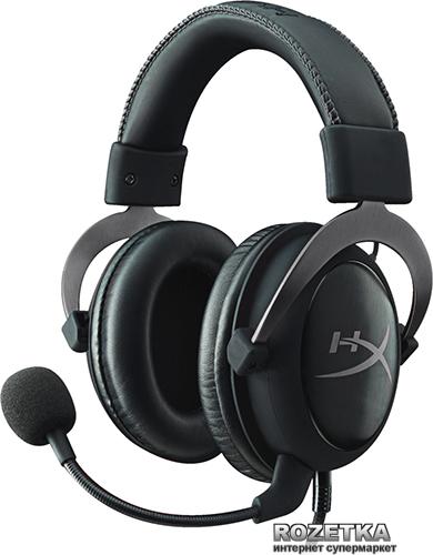 Навушники HyperX Cloud II (KHX-HSCP-GM) Gun Metal - зображення 1