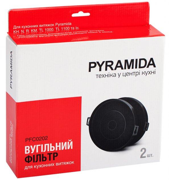 Фільтр вугільний PYRAMIDA PFC0202/R - зображення 1