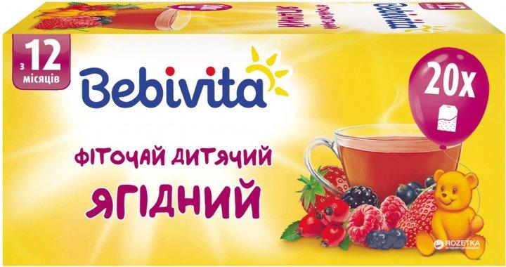 Ягодный фиточай Bebivita 30 г (4820025490763) - изображение 1