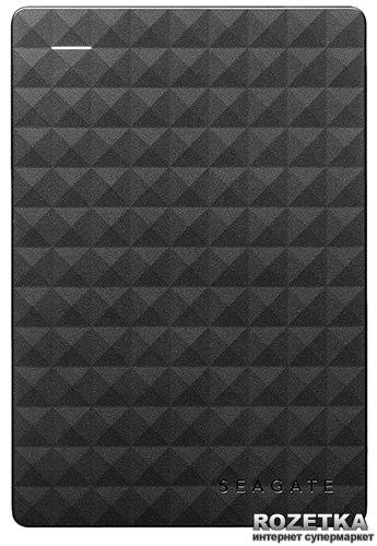 Жорсткий диск Seagate Expansion 1TB STEA1000400 2.5 USB 3.0 External Black - зображення 1