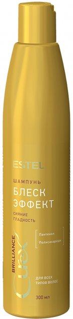 Блиск-шампунь Estel Professional Curex Brilliance для всіх типів волосся 300 мл CU300/S18 (4606453063997) - зображення 1