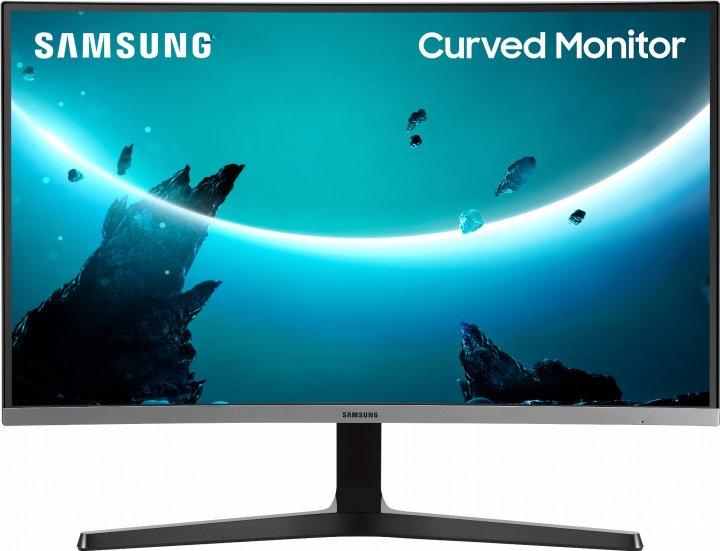 "Mонитор 27"" Samsung Curved C27R500 Dark Silver (LC27R500FHIXCI) - изображение 1"