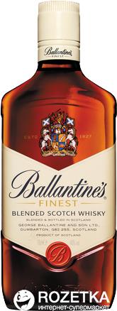 Виски Ballantine's Finest 0.7 л 40%  (5010106113127) - изображение 1