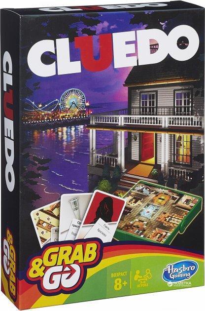Гра Hasbro Gaming Клуедо. Дорожня версія (B0999) - зображення 1