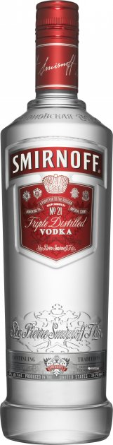 Водка Smirnoff Красная 1 л 40% (5410316518529) - изображение 1