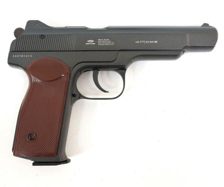 Пневматический пистолет Gletcher APS NBB (Стечкин) BLOWBACK - изображение 1