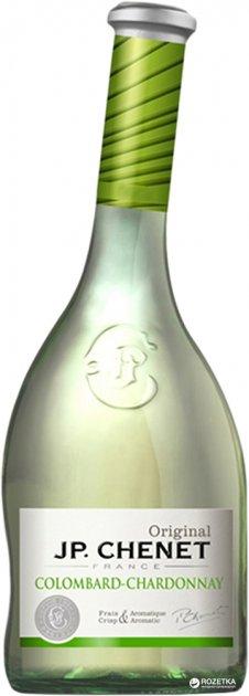 Вино J.P. Chenet Colombard-Chardonnay белое сухое 0.75 л 9.5-14% (3263286346683) - изображение 1