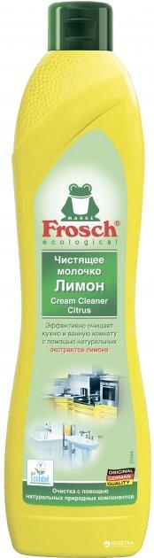 Чистящее молочко Frosch Лимон 500 мл (4009175170590_1) - изображение 1