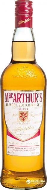 Виски MacArthur's 0.7 л 40% (5010509003001) - изображение 1