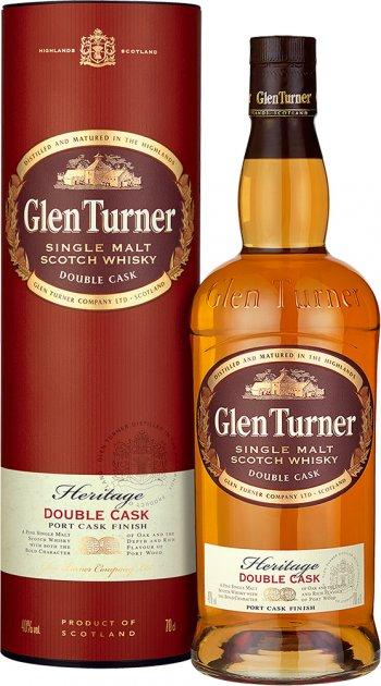 Виски Glen Turner Heritage Double Cask 0.7 л 40% (3147699111154) - изображение 1