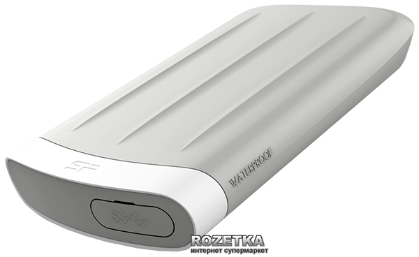 Жорсткий диск Silicon Power Armor A65M 1TB for Apple SP010TBPHD65MS3G 2.5 USB 3.0 - зображення 1