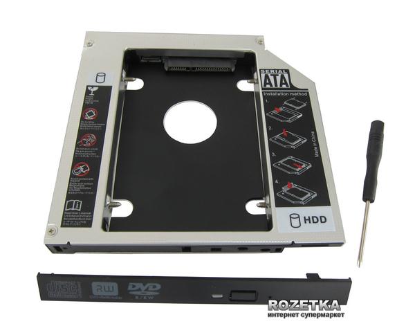 """Карман-адаптер Maiwo для підключення 2.5"""" HDD/SSD SATA 3.0 (NSTOR-9) - зображення 1"""