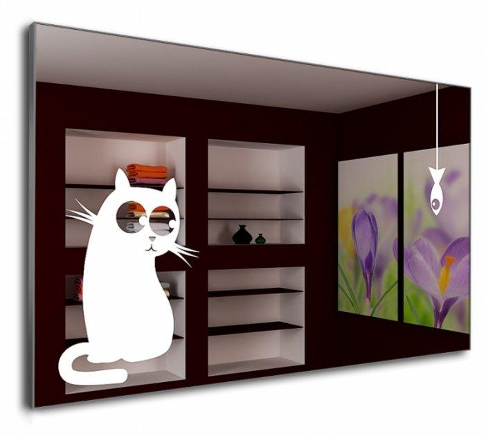 Зеркало J-MIRROR Cat&Fish 70x100 - изображение 1