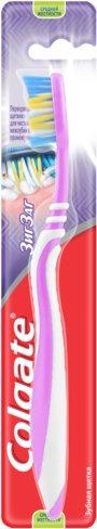 Зубная щетка Colgate ЗигЗаг Плюс средней жесткости (7610196003544) - изображение 1