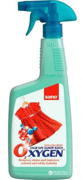 Пятновыводитель для стирки Sano Oxygen Stain Remover 750 мл (7290005430602) - изображение 1