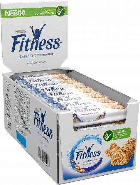 Упаковка батончиков злаковых Fitness с цельными злаками 24 шт х 23.5 г (5900020023315_3387390414172) - изображение 1