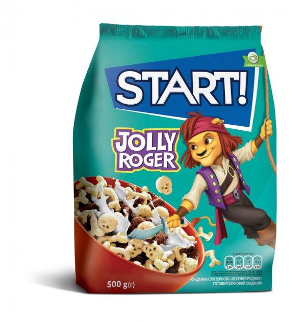 Сухой завтрак Start Веселый Роджер 500 г (4820008126542) - изображение 1