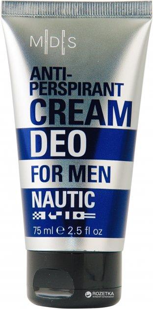 Антиперспірант Mades Cosmetics Nautic Део-крем для чоловіків 75 мл (8714462090012) - зображення 1