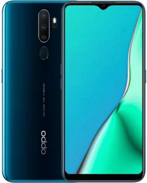 Мобильный телефон OPPO A9 2020 4/128GB Marine Green Официальная гарантия - изображение 1