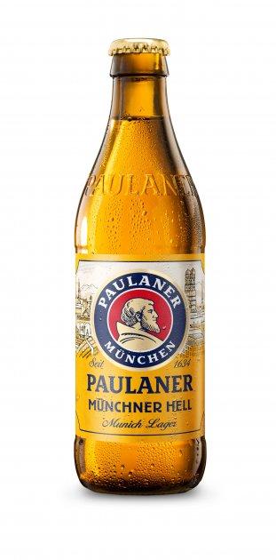 Упаковка пива Paulaner Original світле фільтроване 4.9% 0.5 л x 20 шт (4066600060246) - зображення 1