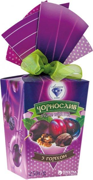 Конфеты Аметист Плюс Чернослив с орехом 250 г (4820148610567) - изображение 1