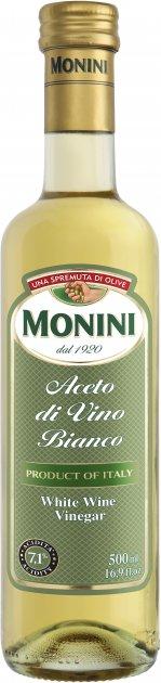 Уксус Monini винный белый 7.1% 500 мл (80054627) - изображение 1