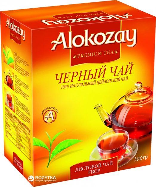 Чай черный среднелистовой Alokozay FBOP 500 г (6291101130060) - изображение 1