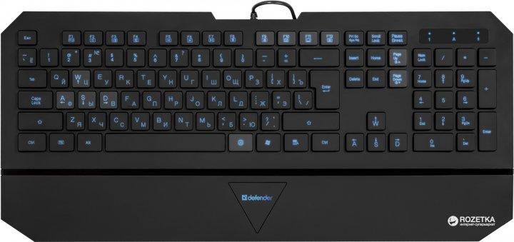 Клавіатура дротова Defender Oscar SM-660L Pro USB (45662) - зображення 1