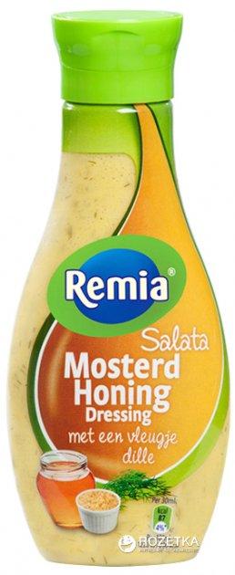 Соус-дрессинг салатний медова гірчиця Remia 250 мл (8710448595090) - зображення 1