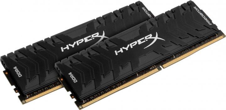 Оперативная память HyperX DDR4-3200 16384MB PC4-25600 (Kit of 2x8192) Predator Black (HX432C16PB3K2/16) - изображение 1