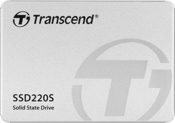 """Transcend SSD220S Premium 120GB 2.5"""" SATA III TLC (TS120GSSD220S) - зображення 1"""