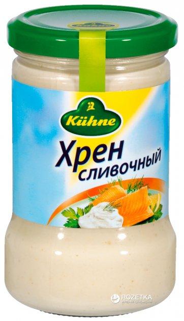 Хрен сливочный  Kuhne 250 г (4012200034743) - изображение 1