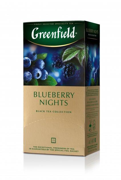 Чай пакетированный Greenfield Blueberry Nights 25 х 1.5 г (4823096802466_4823096806020) - изображение 1