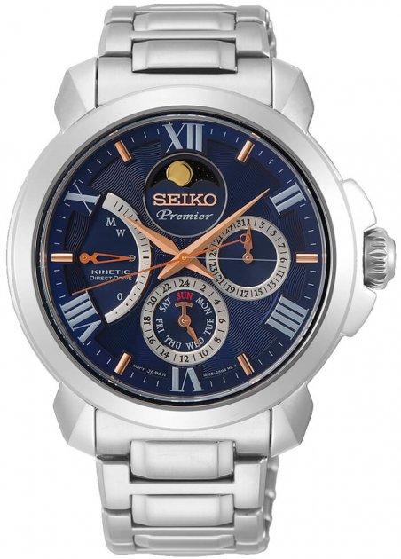 Чоловічий годинник SEIKO SRX017P1 - зображення 1