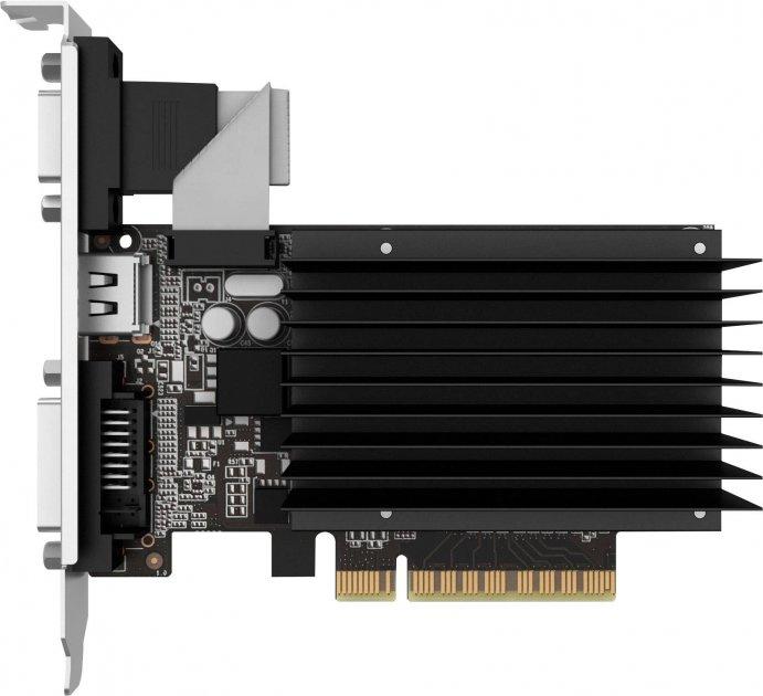 Palit PCI-Ex GeForce GT 710 2048MB DDR3 (64bit) (954/1600) (VGA, DVI, HDMI) (NEAT7100HD46-2080H) - изображение 1