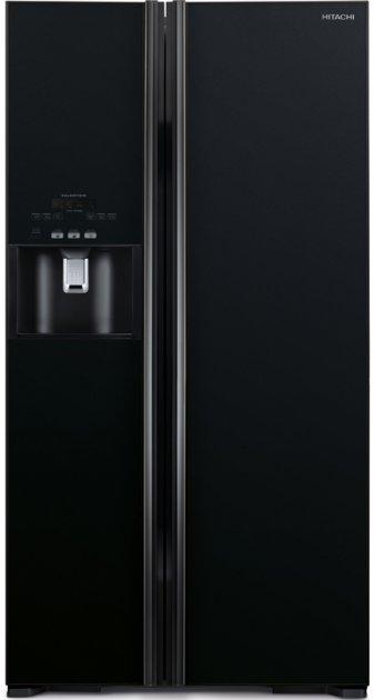 Side-by-side холодильник HITACHI R-S700GPUC2GBK - изображение 1